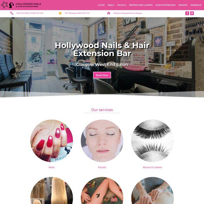 Hollywood Nails & Hair Extension Bar