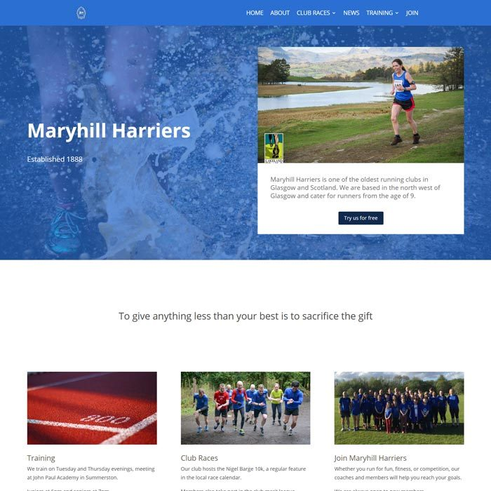 The Maryhill Harriers